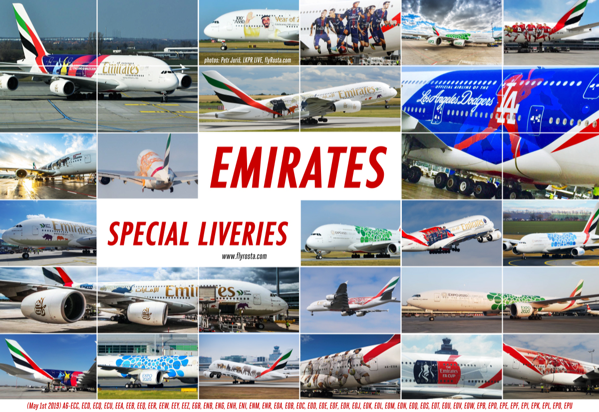 Emirates Special Liveries