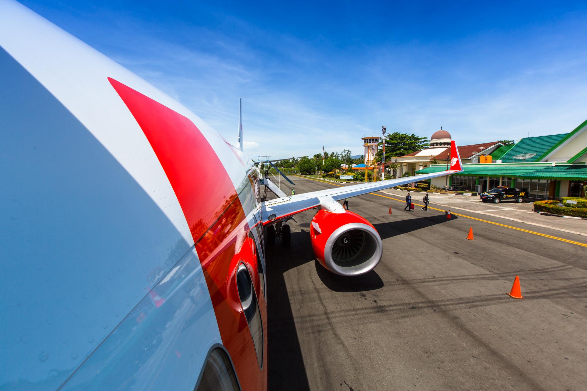 Lion Air – Jakarta to Gorontalo