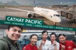 Cathay Pacific I Airbus A350-900 I Taipei – Hongkong
