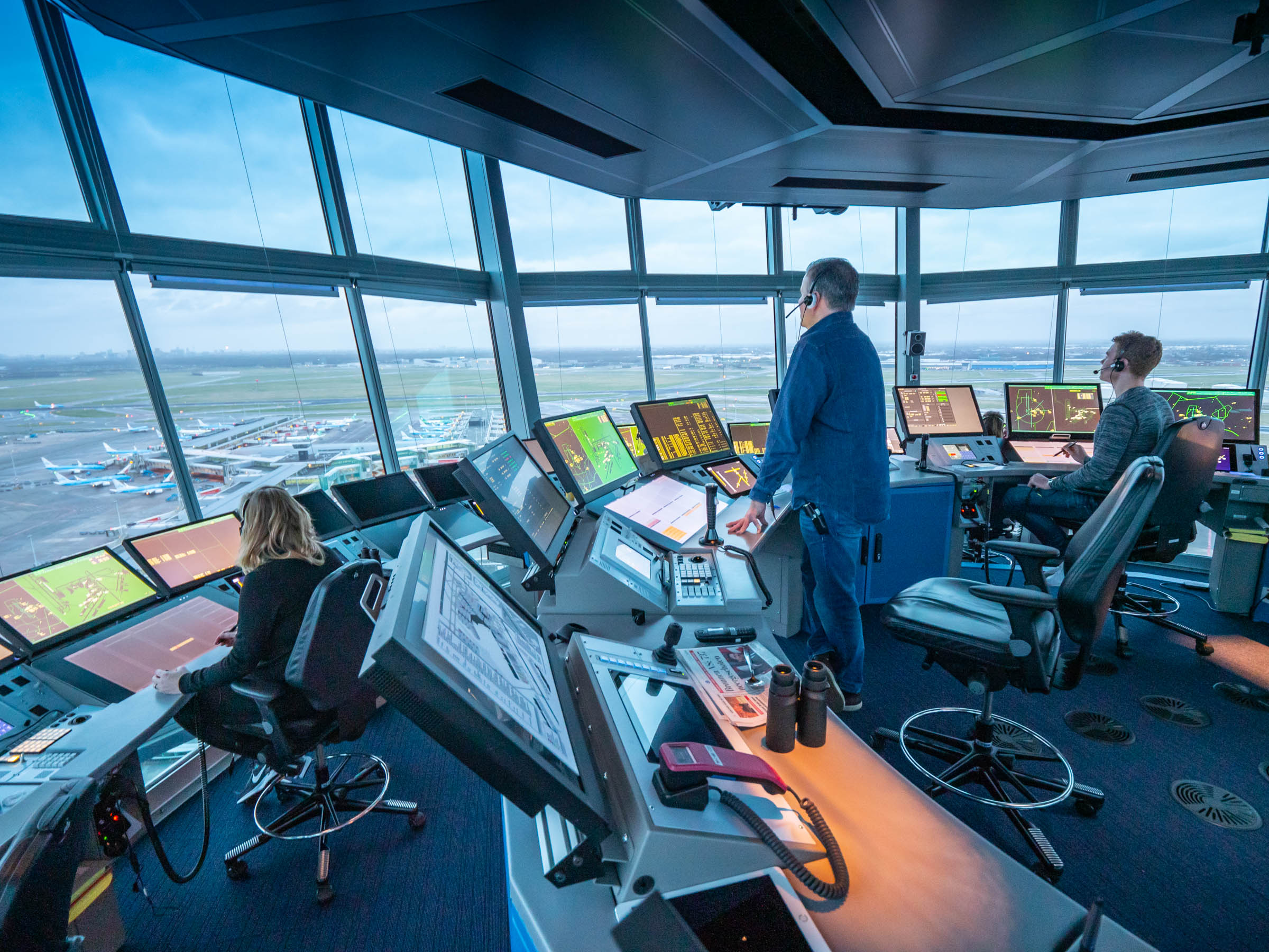 FOTO REPORT: Schiphol Air Traffic Control Tower