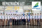 Bamboo Airways vypravily repatriační let z Hanoje do Prahy