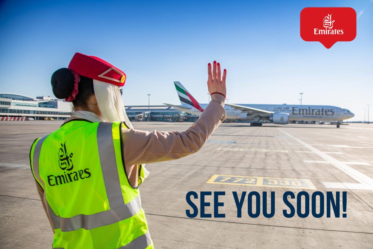 Emirates dočasně přerušily lety do Prahy