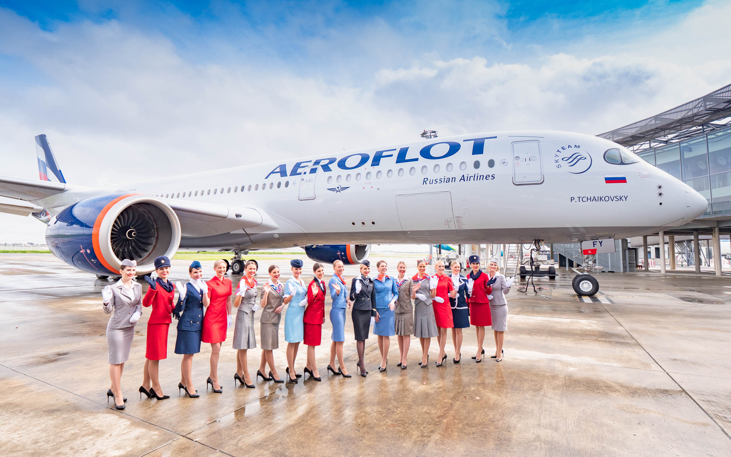 First Airbus A350 for Aeroflot