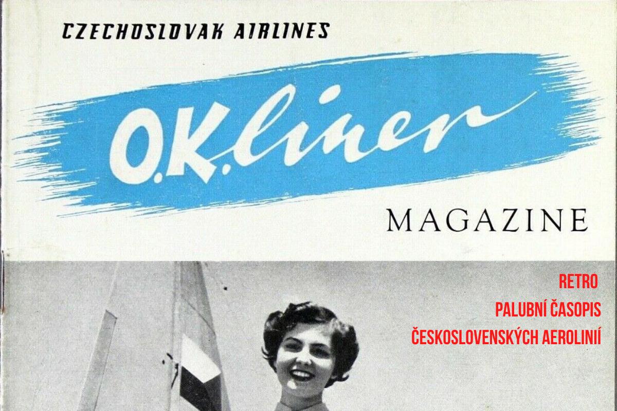 Pohled do historie – palubní časopis ČSA z počátku 50. let