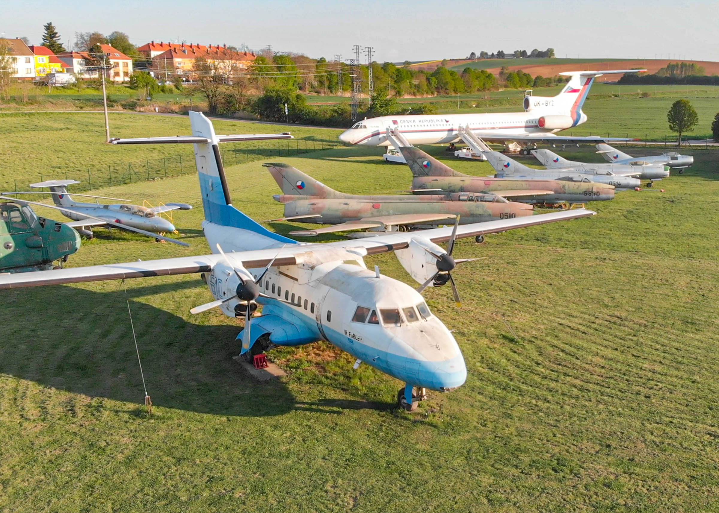 Unikáty leteckého muzea Kunovice