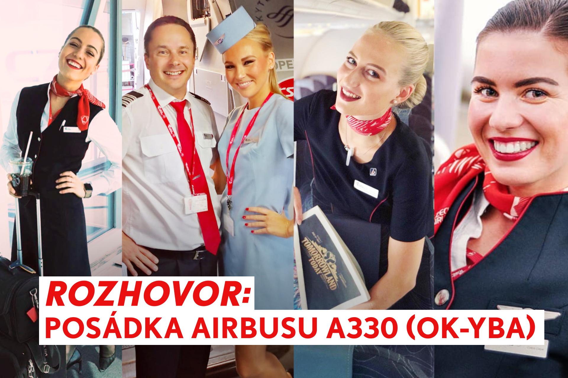 Jak stevardky a stevardi Českých aerolinií vzpomínají na OK-YBA?
