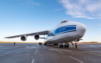 Antonov AN124 Ruslan Volga Dnepr, EMA-TLS