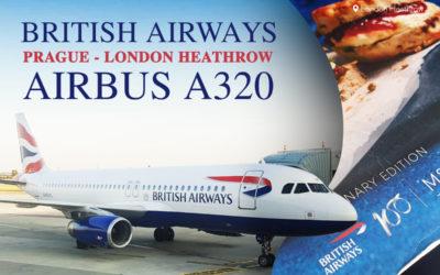 TRIP REPORT: British Airways, Prague – London Heathrow