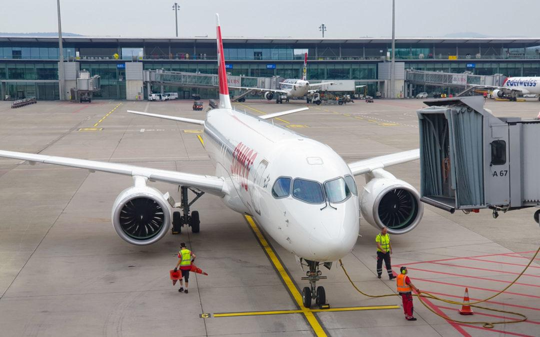 SWISS, Zurich – Berlin Tegel, Airbus A220-100
