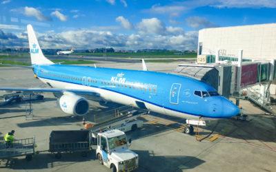 KLM Business Class v době covidu, Praha – Lisabon