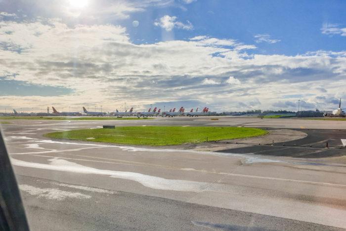 Na zemi je i v Lisabonu spousta strojů, které čekají na své cestující