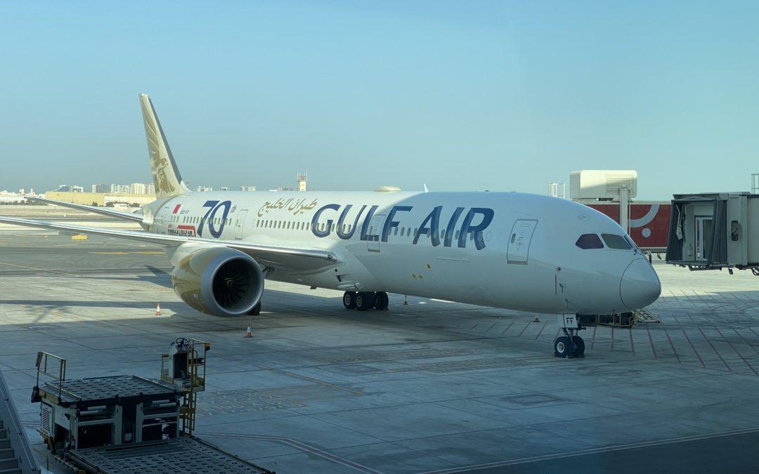 Gulf Air, Bahrain – Dubai, Boeing 787-9 Dreamliner
