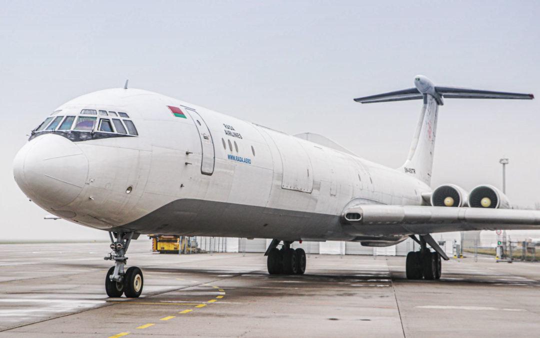 Ilyushin Il-62MGr Rada Airlines v Ostravě