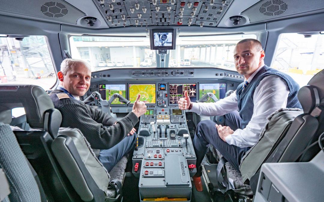 Embraer E195-E2 Belavia poprvé v Praze