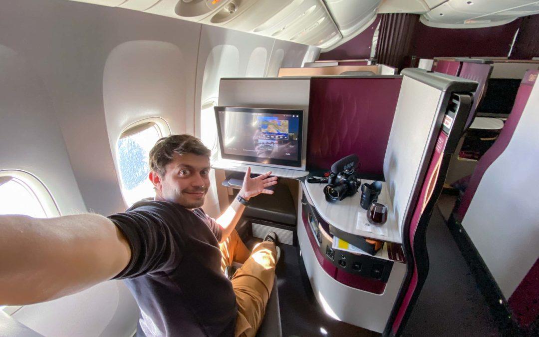 Qsuite, Nejlepší business class, Qatar Airways