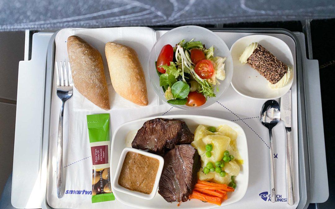 Létání s ČSA v roce 2021, Praha- Kyjev, Airbus A319