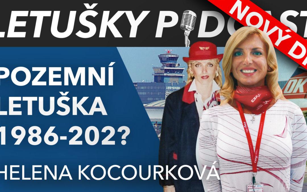LETECKÝ PODCAST, Ruzyňská legenda Helena Kocourková